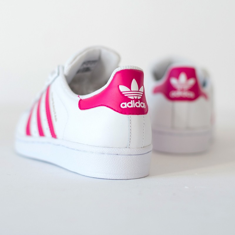 Adidas Superstar Mujer Fucsia